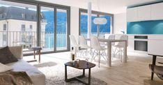 Tolle 3.5 Zimmerwohnung mit Blick zum See bis hinauf zur Rigi in Gersau zu vermieten.