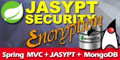 JASYPT Password Encryption with Spring MVC REST API and MongoDB Example