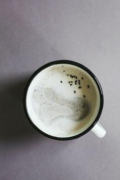 Black sesame milk