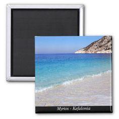 Myrtos – Kefalonia Refrigerator Magnets