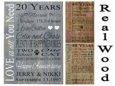 45th wedding anniversary gift ideas for parents mom & dads 45th