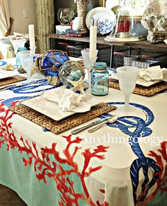 Anythingology: Nautical Dinner Party