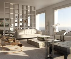 432 Park Avenue, NYC, Penthouse by Rafael Viñoly
