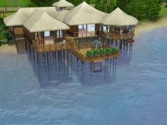 Tropicabana house by Asmodeuseswife - Sims 3 Downloads CC Caboodle