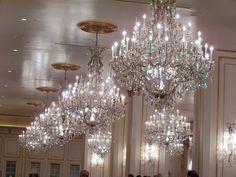Room Full Of Chandelier