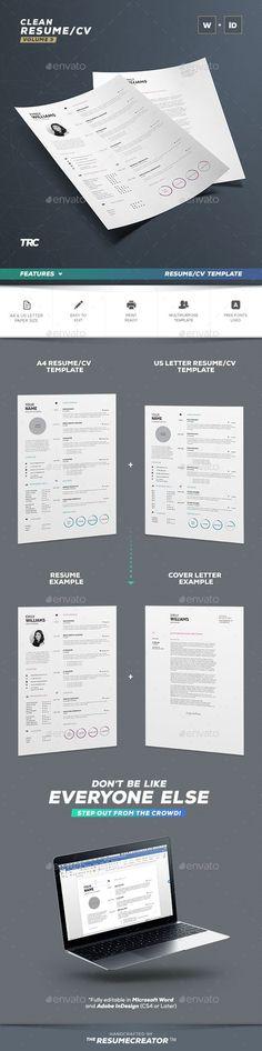 ◽ [Get Nulled]◅ Infographic Resume/Cv Template Volume 9 Adobe Indesign Bundle Clean Clean Resume Cover Letter Template Adobe Indesign, Indesign Resume Template, Infographic Resume Template, Resume Cover Letter Template, Teacher Resume Template, Resume Design Template, Creative Resume Templates, Cv Template, Adobe Photoshop