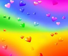 Find images and videos about rainbow, hearts and cyber on We Heart It - the app to get lost in what you love. Rainbow Aesthetic, Aesthetic Colors, Aesthetic Pictures, Heart Sign, We Heart It, Overlays, Eye Strain, Indie Kids, Over The Rainbow