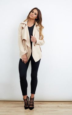 The nicest outfits you haven't met yet. Check out the new arrivals who've just landed down at SilkFred. Waterfall Jacket, New Today, Whats New, Skinny Jeans, Cream, My Style, Makeup, Sexy, Clothing