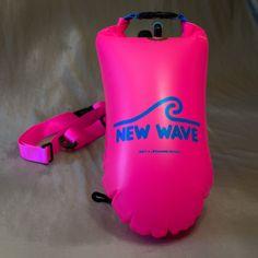 New Wave Open Water Swim Buoy - Medium (15 liter) - PVC Pink