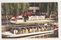 the old showboat at dorney park