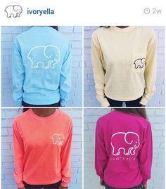 fd0d934ca6941 Ivory ella elephant shirts ♥ Elephant Shirt
