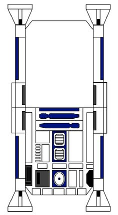 Pin by rachel veneracion on r2d2 pinterest for R2d2 leg template