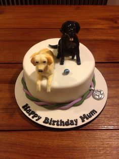 lady sat on her garden bench with dog and wine glass edible Birthday Cake Topper