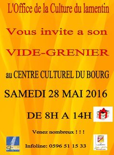 Vide grenier Vous aussi intégrez vos événements dans l'Agenda des Sorties de www.bellemartinique.com C'est GRATUIT !  #martinique #concert #agenda #sortie #soiree #Antilles #domtom #outremer