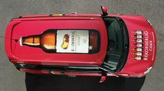 A #BeautifullyRekorderlig car, traveling in style.
