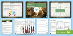 Othello Themes Activity Pack