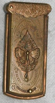 The Quadruple Golden Casket, an antique needle case by W. Avery & Son, ca.1868
