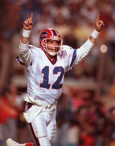 It's Bills 90s week on buffalobills.com, and there's plenty more where this shot of everyone's favorite QB came from!