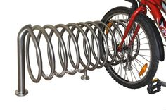 Springform bicycle stand