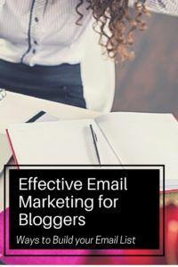Effective email marketing is an essential piece to monetizing your blog. In this post I show you how simple it is to start creating an effective email marketing campaign.