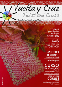 Vuelta y Cruz Nº12: Revista de bolillos / Twist and Cross N.12: Bobbin lace magazine (11€)