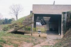 https://flic.kr/p/4G8661 | Cementerio de Igualada_1985_arq: Enric Miralles y Carmen Pinós