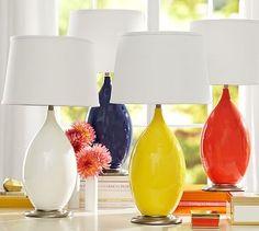 Emilia Ceramic Table Lamp #potterybarn