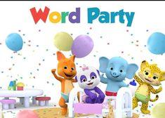 3x6 Word Party vinyl Birthday Banner