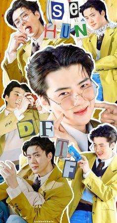 Kpop Exo, Suho Exo, Exo Kai, Sehun Cute, How Big Is Baby, Exo Ot12, Cute Actors, Anime Scenery, Photo Cards