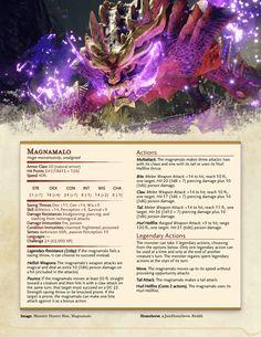 Monster Hunter Games, Dnd Stats, Ascii Art, Dnd 5e Homebrew, Darkest Dungeon, Dnd Monsters, Dungeons And Dragons Homebrew, Fantasy Monster, Custom Tags