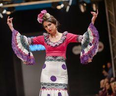 Desfile de Carmen Navarro en la Pasarela Flamenca de Jerez 2017. Foto: Cristian Cantizano Fotography
