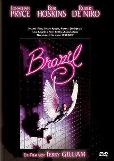 """""""Brazil"""" (1985) - Science Fiction - abgedreht, schräg, schrill, verstörend, dicht, komplex... ein typischer Terry Gilliam-Film.  Quelle: http://www.new-video.de"""