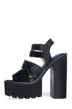 Jeffrey Campbell Shoes BEYOND Shop All in Black Combo