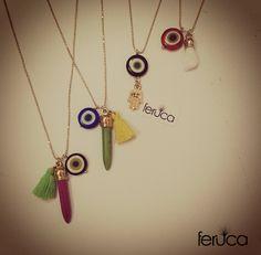 """cadena """"Amuletos"""""""