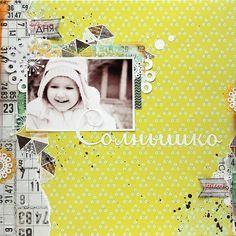 Sunshine by Tanya Batrak (Attic door collection, Lemon Owl)