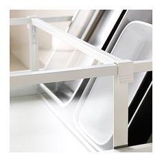 IKEA - MAXIMERA, Trennsteg für hohe Schublade, 60 cm, , Dank der verstellbaren Trennstege kann die Aufbewahrung dem Bedarf angepasst werden.Erleichtert Übersicht und Zugriff auf Lebensmittel und anderes in Schubladen.
