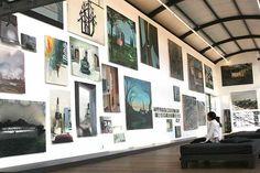 Overzicht Le peintre de la vie moderne. © Ton Kastermans, Museum De Paviljoens