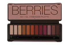 BYS Berries Eyeshadow Palette Tin with Mirror Applicator 12 Matte Metallic Shades ** Find out more about the great product at the image link. (This is an affiliate link) How To Do Eyeshadow, High Pigment Eyeshadow, Peach Eyeshadow, Eyeshadow Tips, Eyeshadow Base, Eyeshadow Makeup, Eyeshadow Palette, Applying Eyeshadow, Sexy Smokey Eye