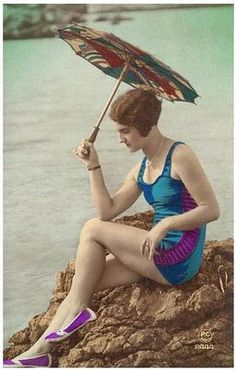 Magic Moonlight Free Images: Vintage Pictures~Ladies in Swimsuits~
