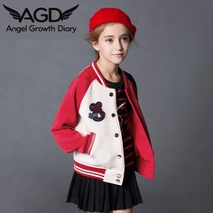 Find More Hoodies & Sweatshirts Information about Aged4 15T Autumn Children Girls Long Sleeved Jacket Children Baseball Uniform Sport Coat Sweater Letter Girls Hoodies Sweatshirt,High Quality hoodie men,China hoodies cartoon Suppliers, Cheap sweatshirt sport from Angel Growth Diary on Aliexpress.com