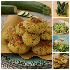 Frittelle di zucchine e ricotta