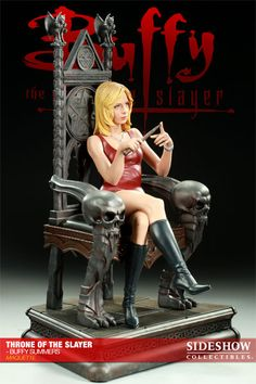 Sideshow Collectibles - Throne of the Slayer - Buffy Summers Maquette
