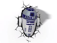 Lámpara Infantil Funny Light R2-D2  www.gotmuebles.mx