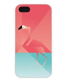 Flamingo als iPhone 5/5S Hülle von Martin Schwartz