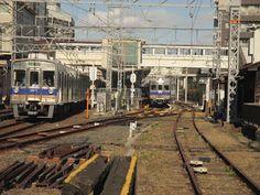 blackcat写真館: 堺東駅にて