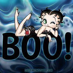 Betty Boop Pictures Archive: Betty Boop Boo! Halloween graphics