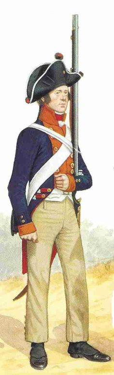 Musketeer 2nd Infantry Regiment Prussia 1806