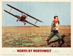 North by North West - Plane in the field