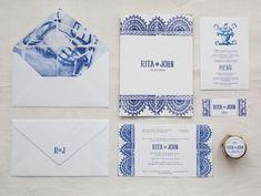 Invitations azuleijos-style? Um ano inteiro de ADORO