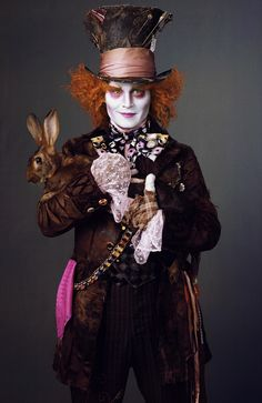 Mad Hatter from Alice In Wonderland #movies #JohnnyDepp